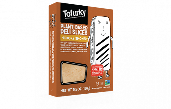 Tofurky deli slices hickory smoked flavour