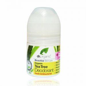 DR.ORGANIC TEA TREE DEODORANT 50ML