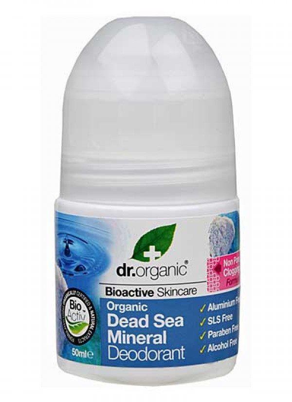 DR.ORGANIC DEAD SEA MINERAL DEO 50ML