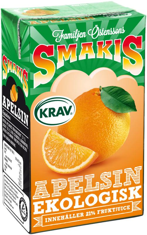FAMILJEN ÖSTENSSON SMAKIS APELSIN