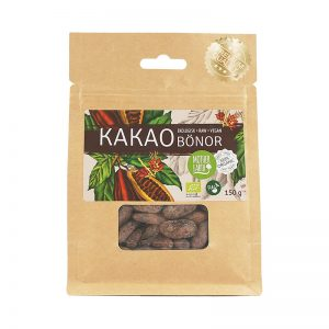 MOTHER EARTH KAKAOBÖNOR 150G