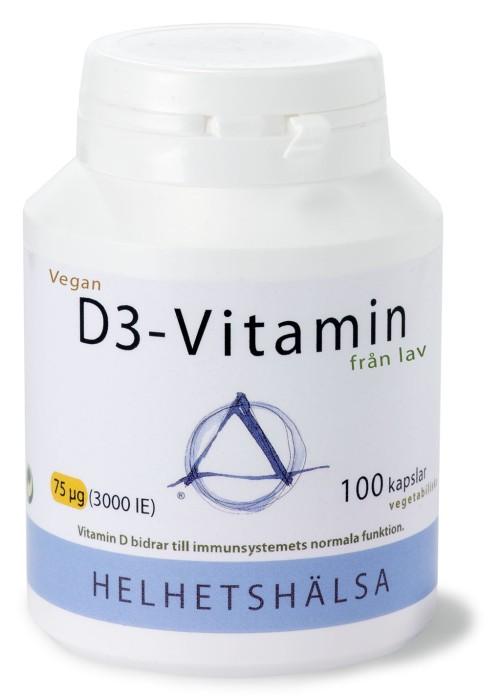HELHETSHÄLSA D3-VITAMIN