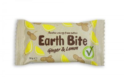 EARTH BITE GINGER & LEMON 50G
