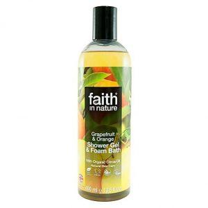 FAITH IN NATURE GRAPEFRUIT AND ORANGE SHOWER GEL 400ML