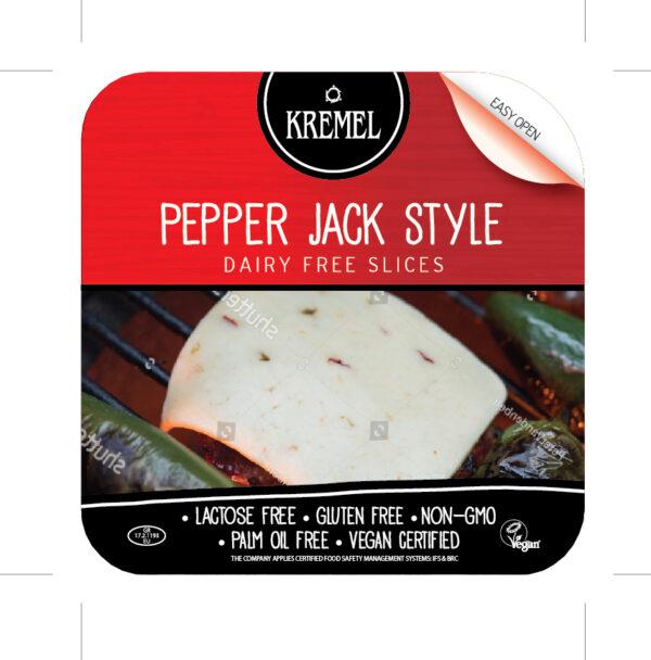 KREMEL VEGAN PEPPER JACK DAIRY FREE SLICES