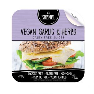 KREMEL VEGAN GARLIC & HERBS DAIRY FREE SLICES