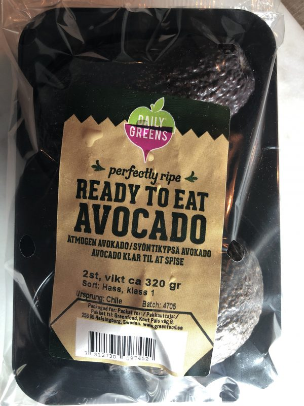 AVOCADO 2PACK ÄTMOGEN CHILE