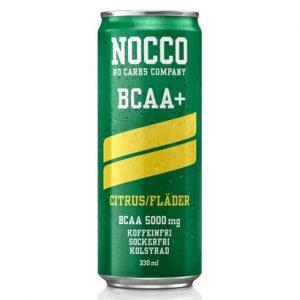NOCCO CITRON/FLÄDER BCAA+ 330ML