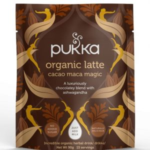 PUKKA ORGANIC LATTE CACAO MACA MAGIC EKO 90G