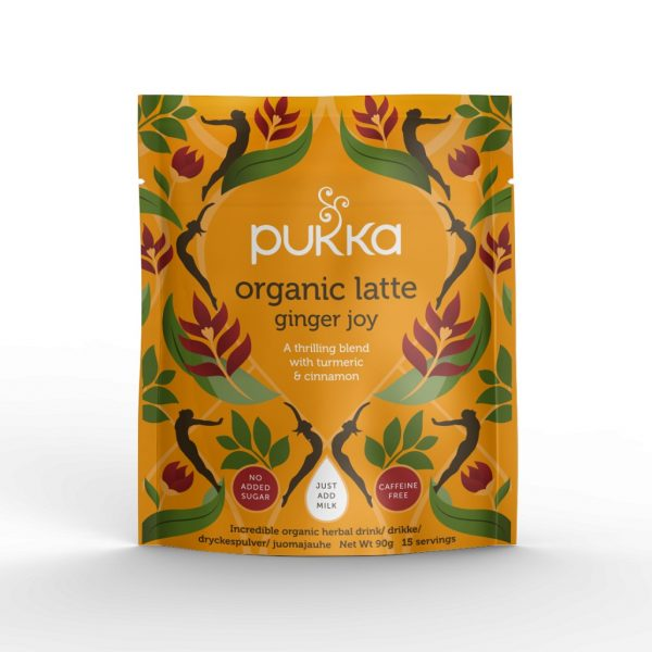 PUKKA ORGANIC LATTE GINGER JOY 90G