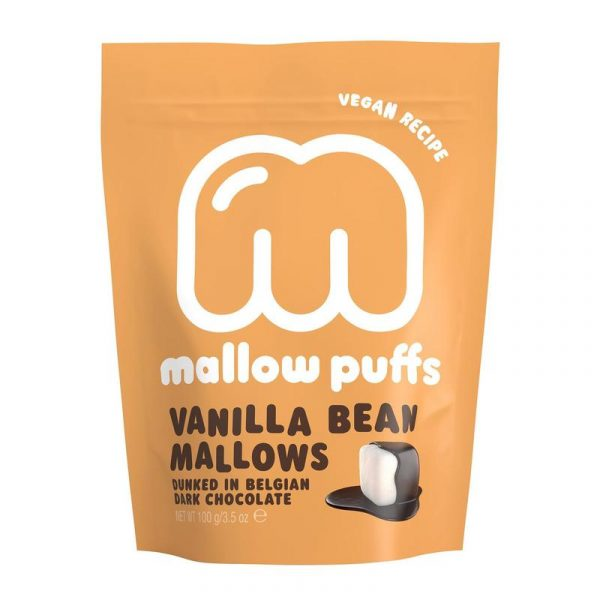 MALLOW PUFFS I CHOKLAD VANILLA MARSHMALLOWS
