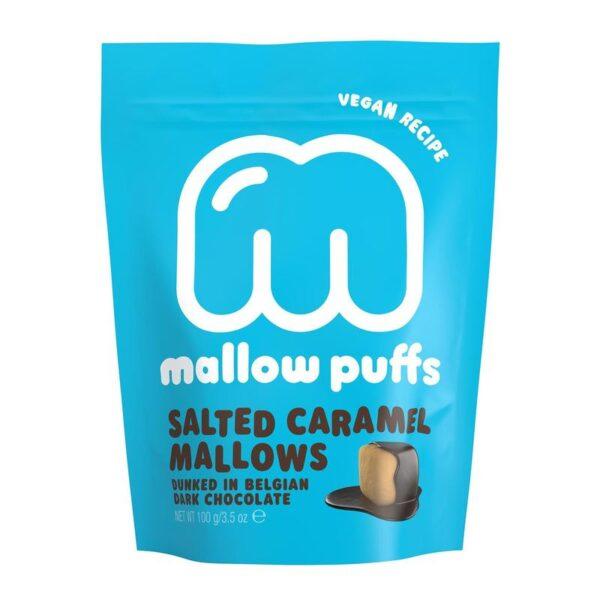 MALLOW PUFFS I CHOKLAD SALTED CARAMEL MARSHMALLOWS