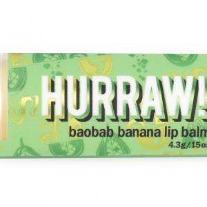 HURRAW Baobab Banan Läppbalsam