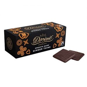 DIVINE GINGER THINS CHOCOLATE 200G