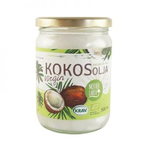 MOTHER EARTH KOKOSOLJA VIRGIN EKO 500ML