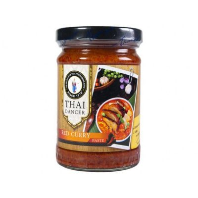 THAI DANCER RÖD CURRY PASTE 227G