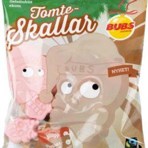 BUBS Tomteskallar gögg/pepparkaka