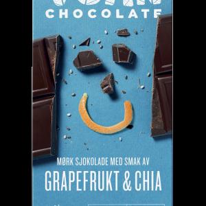 VGAN Mörk Choklad Grapefrukt och Chia