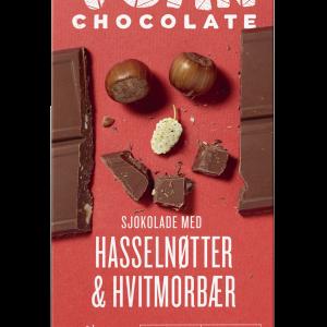 Choklad Hasselnötter och Vita Mullbär