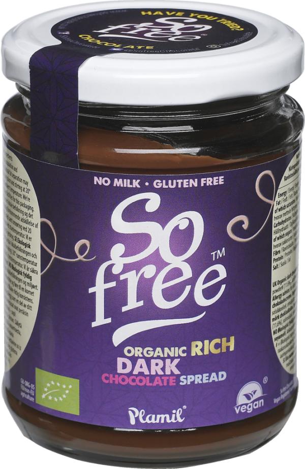 Plamil So free Dark Chocolate Spread