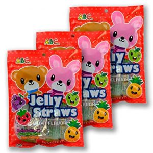 ABC Jelly Straws Fruit Flavour