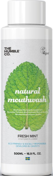 THE HUMBLE CO. NATURAL MOUTHWASH FRESH MINT