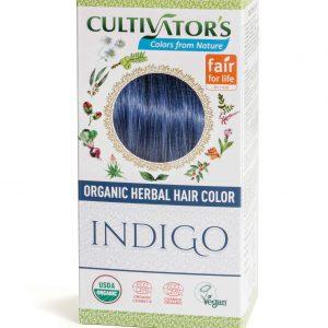 Cultivators Indigo Ekologiskt Certifierad Växthårfärg