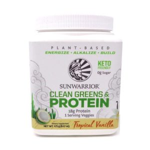 Clean Green Proteins Sunwarrior Tropical Vanilla Flavour