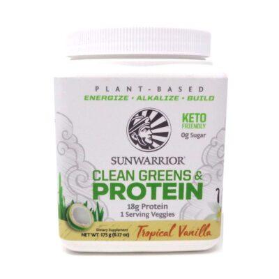 Clean Green Proteins Sunwarrior Tropical Vanilla Flavour